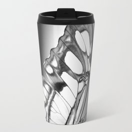 Black and white butterfly Travel Mug