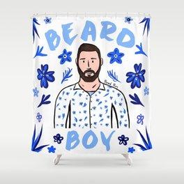 Beard Boy: Karl Shower Curtain