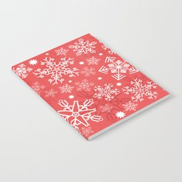 Christmas Snowflakes Notebook