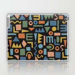 Colorful Shapes Laptop & iPad Skin