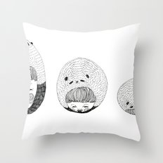 A Bored Panda  Throw Pillow