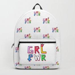 GRL PWR pattern Backpack