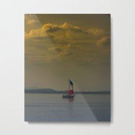 Sailboat Metal Print