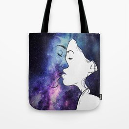 Kisses from the universe. Tote Bag