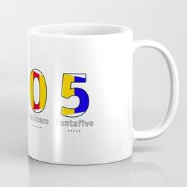2005 - NAVY - My Year of Birth Coffee Mug