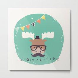 Monty Mouse Metal Print