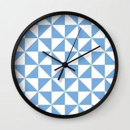 Jordy Blue Pinwheel | Beautiful Interior Design Wall Clock