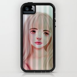 Girl on the Window iPhone Case