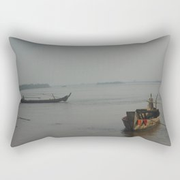 Cambodian Island Transport Rectangular Pillow
