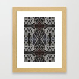 Ghosts Emerging Framed Art Print