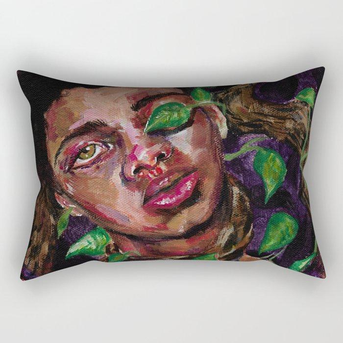Overgrowth Rectangular Pillow