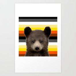 Bear Cub for nature lovers  Art Print