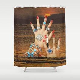 Non-Renewable Brats Shower Curtain