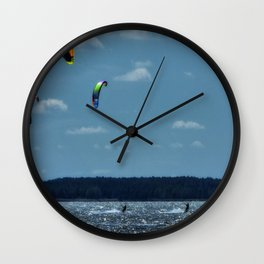 KITE~Party of 3 Wall Clock