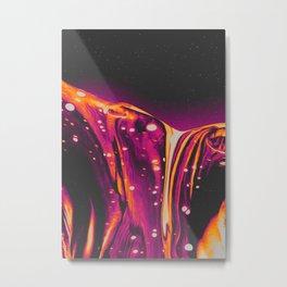 RIBCAGE FIREPLACE Metal Print