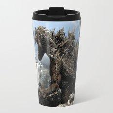 Godzilla versus The Staypuft Marshmallow Man Travel Mug
