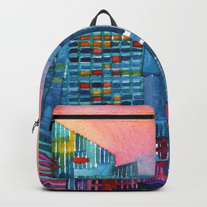 New York buildings vol2 Backpack