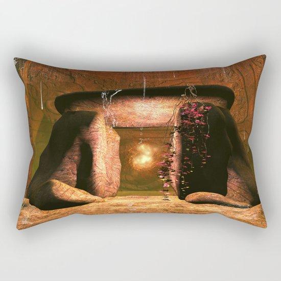 The mystical light ball Rectangular Pillow