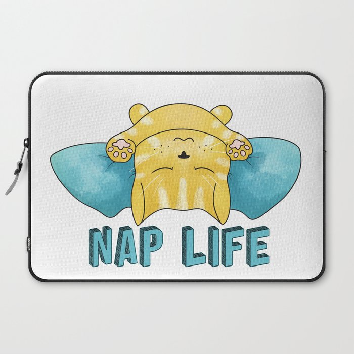 Nap Life Laptop Sleeve