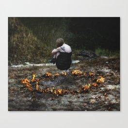 Fire and Brimstone  Canvas Print