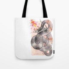 Glowing Corn Snake Tote Bag