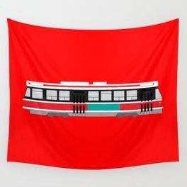 Toronto TTC Streetcar Wall Tapestry