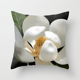 Magical Magnolia Throw Pillow