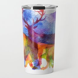 I love animals Travel Mug