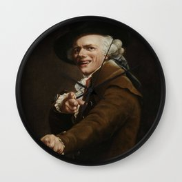 Joseph Ducreux - Self-portrait of the Artist in the Guise of a Mocker Wall Clock