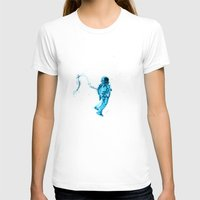 astronaut T-shirts featuring Astronaut by Augusto Melo