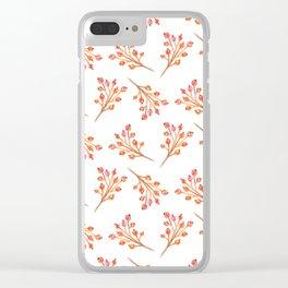 ap 1 Clear iPhone Case