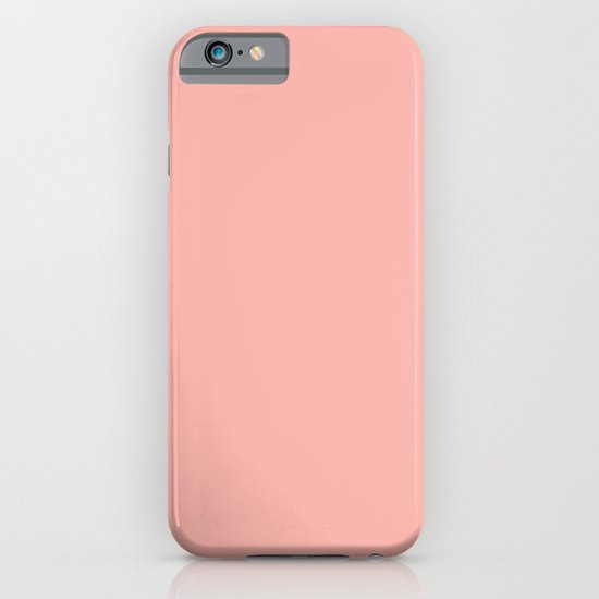 SOLID CORAL/PEACH iPhone & iPod Case