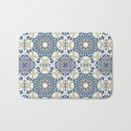 Blue fruit Bath Mat