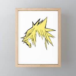 Hair Framed Mini Art Print