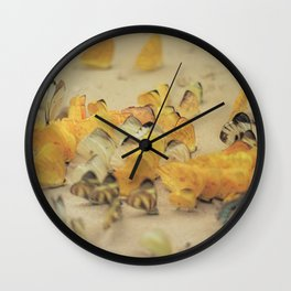 Gathering Wall Clock