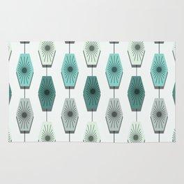 Mid Century Modern Pattern Rug