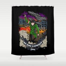 Warsaw Uprising Shower Curtain
