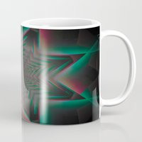 tron Mugs featuring Tron Star by Vortex Interactive