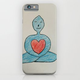 Calm Heart iPhone Case