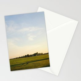 Midwest Fields Sunrise Stationery Cards