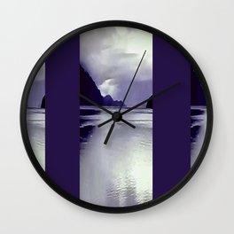River View Wall Art Wall Clock