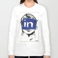 instagram Long Sleeve T-shirts featuring O'Prime instagram by O'Prime