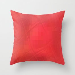 Re-Created Twisted SQ XII by Robert S. Lee Throw Pillow