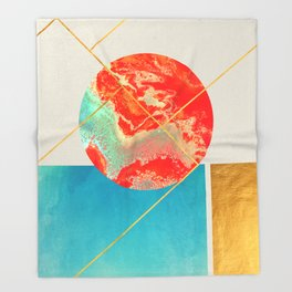 Earth & Sea #society6 #decor #buyart Throw Blanket