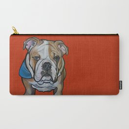Johnny the English Bulldog Carry-All Pouch