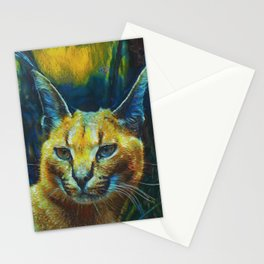 Caracal II Stationery Cards