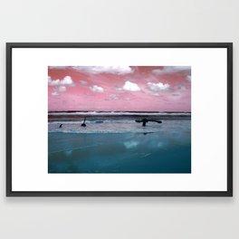 Surrealistic Seascape IV Framed Art Print