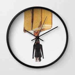 Normal Life · Koffer me Wall Clock