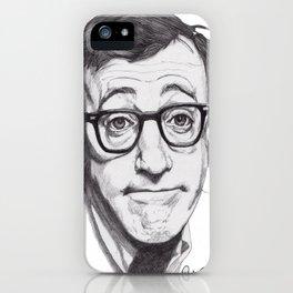 Woody Allen iPhone Case