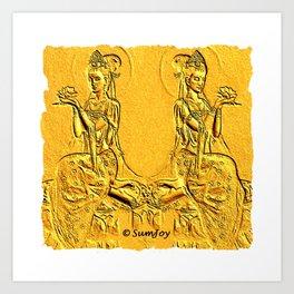Goddess (4) Art Print